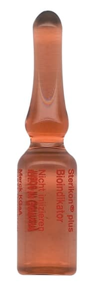 Sterikon® Plus bioindicador para control de autoclaves 100 ampollas Merck