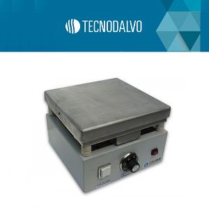 Plancha calefactora de aluminio 25x25cm Tecnodalvo