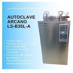 Autoclave vertical Arcano LS-B35L-A Digital 35L