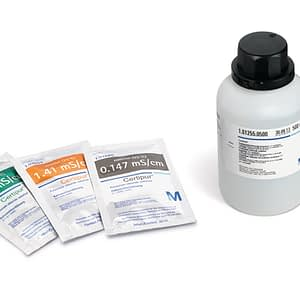 Potasio cloruro SLN 1.41 mS/cm trazable a PTB y NIST Certipur 30×30 ml Merck