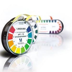Papel indicador pH 5.5-9,0 Neutralit c/escala 3 rollos 4,8 mt Merck