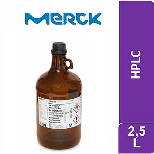 Agua para cromatografia Lichrosolv 2.5 L Merck