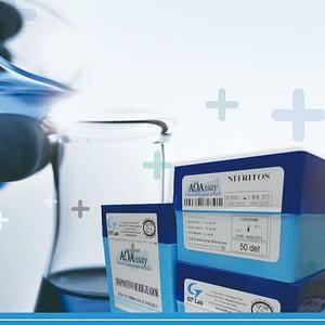 AQAssay FOSFORO  50 det Rango 0.05 - 5 mg/l GT Lab
