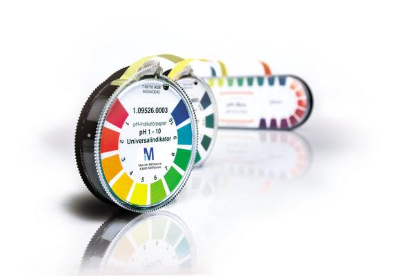 Papel indicador pH 0.5- 5 Acilit 3 rollos de 4
