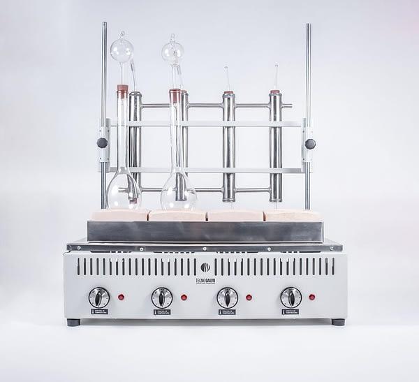 Equipos Macro-Micro KJELDHAL para Destilación 6 det TecnoDalvo