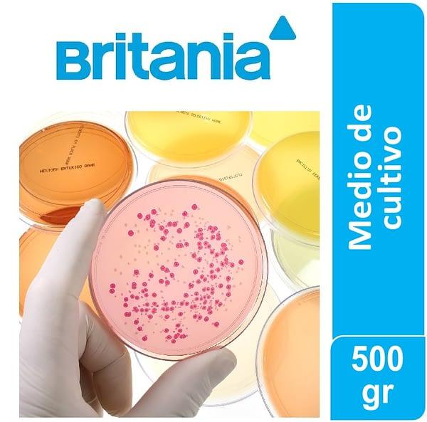 Recuento en placa Agar 500 gr Britania