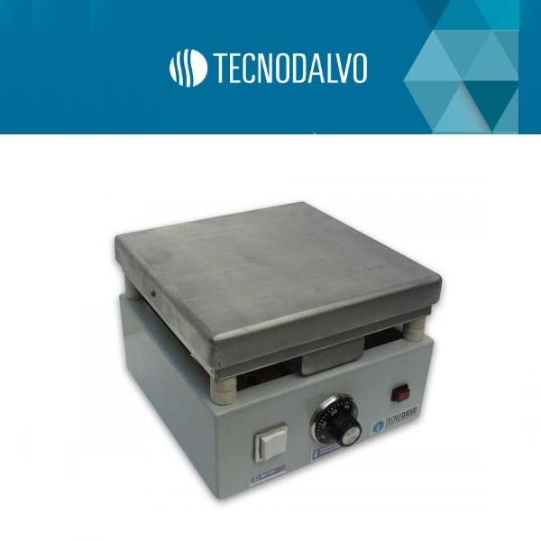 Plancha calefactora de aluminio 25x50 cm Tecnodalvo