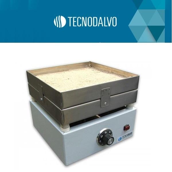 Baño de arena de aluminio 25x50 cm Tecnodalvo