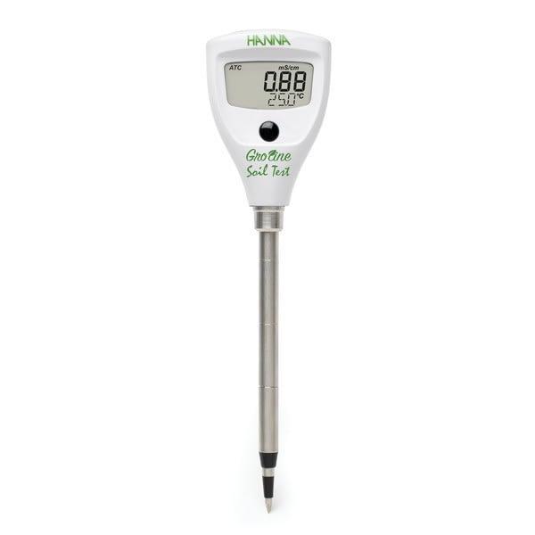 Tester de CE. TDS y temperatura para la medición directa del suelo Hanna Instruments