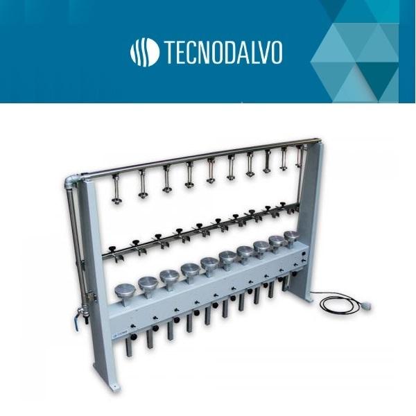 Extractor de materia grasa - butt 10 Determinaciones Tecnodalvo