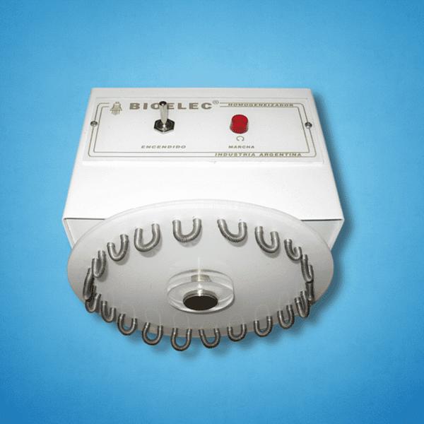 Homogeneizador rotativo para tubos Bioelec