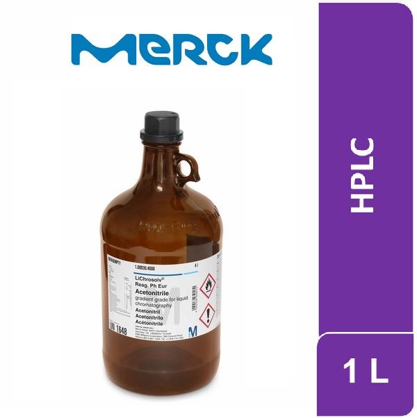 Metanol hypergrade para cromatografía en fase líquida (LC/MS) LiChrosolv 1 L Merck