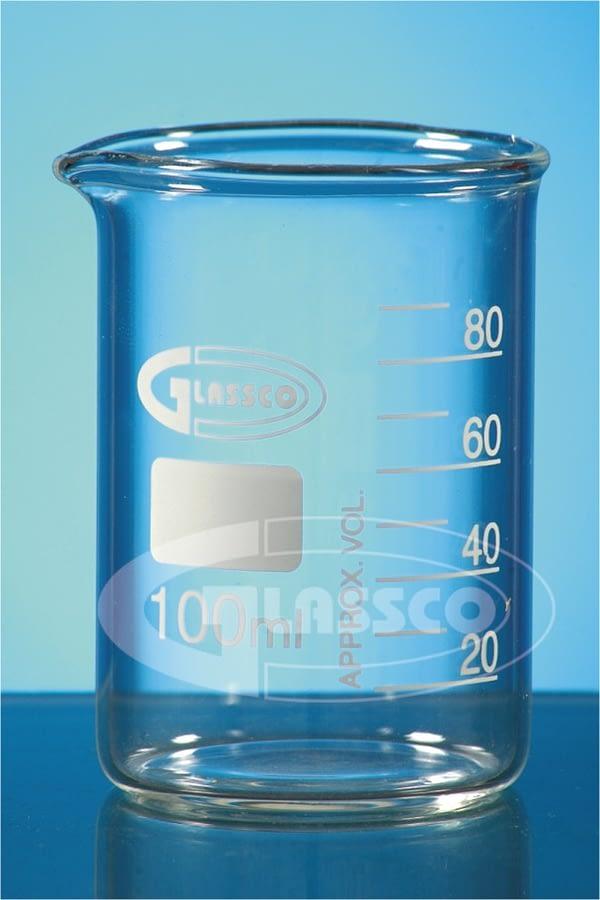 Vaso precipitado vidrio graduado 400 ml Glassco